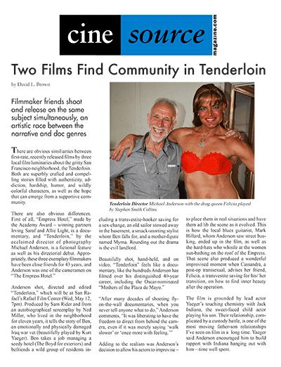 Cine Source Tenderloin, by David L. Brown